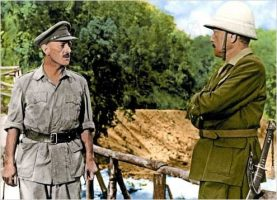 Le pont de la riviere Kwai The bridge on the river Kwai 1957 Real : David Lean Alec Guinness Sessue Hayakawa COLLECTION CHRISTOPHEL