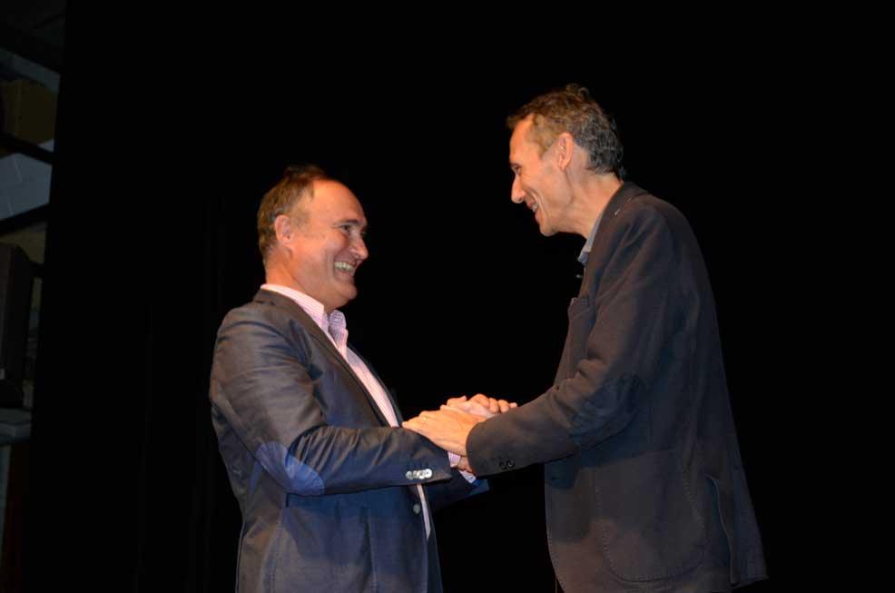 Eric Salmon et Laurent Gounelle