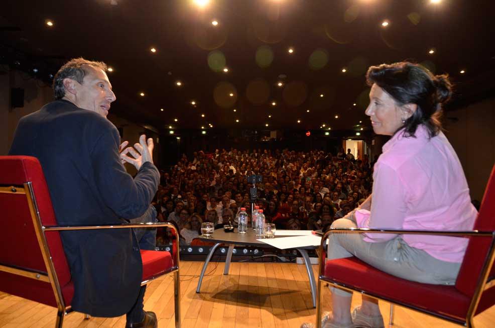 Laurent Gounelle et Olivia