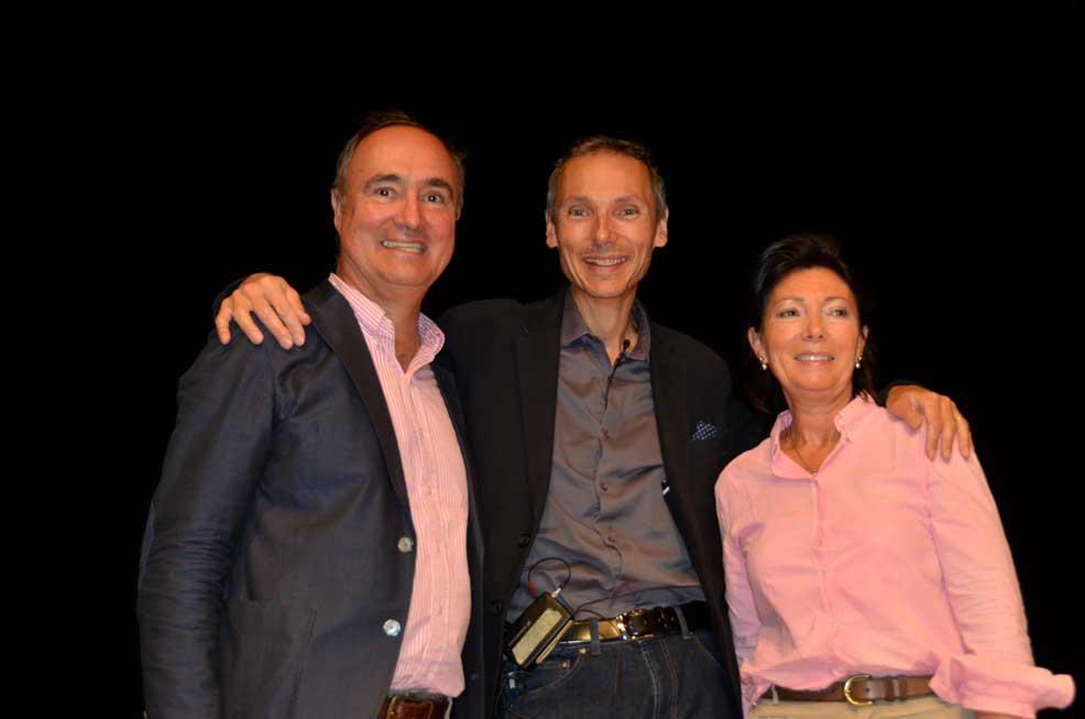 Eric, Olivia et Laurent Gounelle