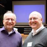 Deux participants du séminaire leadership et conscience